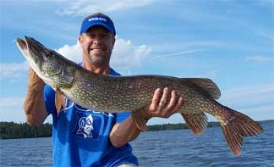 northern pike tackle for fishing ontario lodges