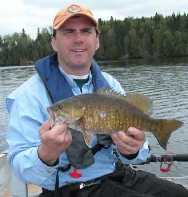trophy bass fishing canada for smallmouth in boats