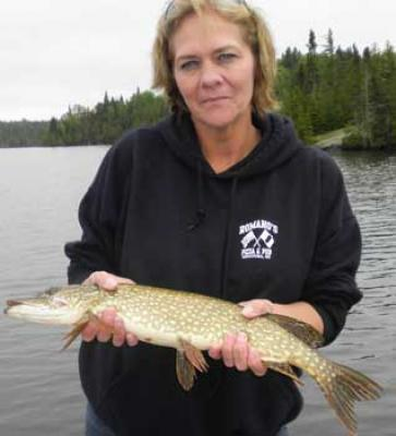 fishing for northern pike in canada for the first time