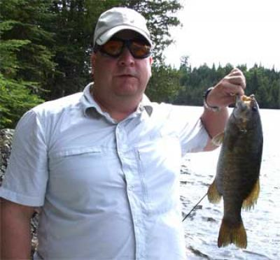 many smallmouth bass like this in Canada