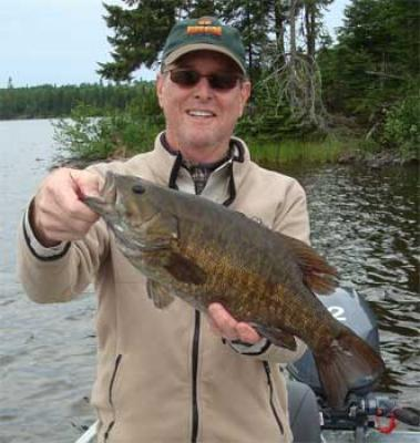 terrific fly-fishing for trophy smallmouth bass in Canada