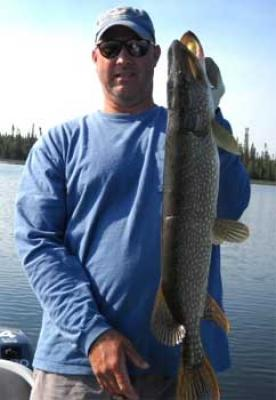 Fabulous BIG Pike Fishing at Canada Lodges
