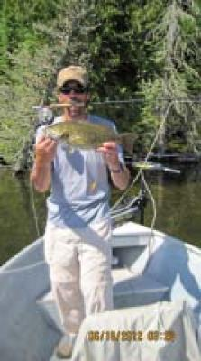Awesome Fly-Fishing Smallmouth Bass in Canada