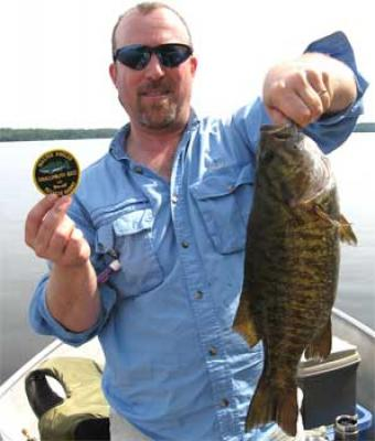 Master Anglers Trophy Smallmouth Bass fishing in Canada