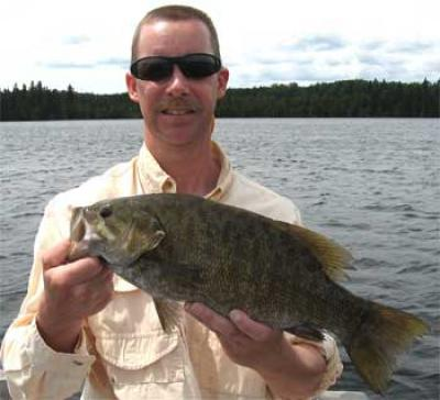 Superb Smallmouth Bass Fishing at Fireside Lodge Canada