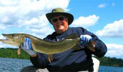 Northern Pike Fishing is Great at Fireside Lodge Canada