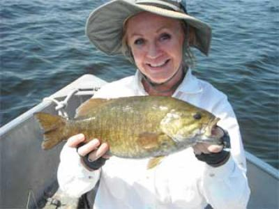 Big and Beautiful Smallmouth Bass Fishing in Canada