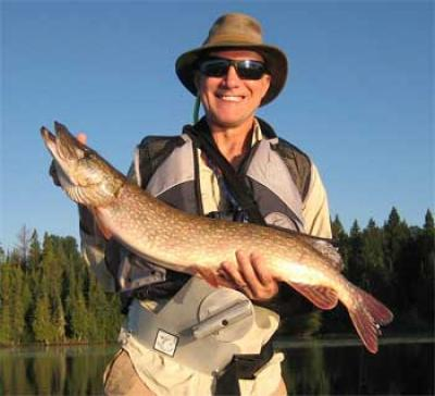 Fishing for Northern Pike in Canada at Fireside Lodge is a Blast