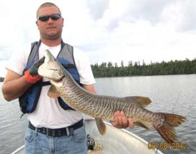 Tiger Musky Fishing is Best at Fireside Lodge in Canada