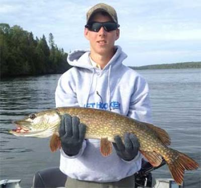 First BIG Northern Pike Fishing at Fireside Lodge Canada