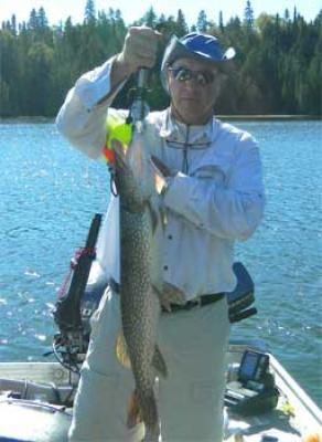 Terrific Pike Fishing at Fireside Lodge Canada