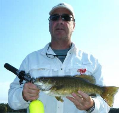 Many Large Smallmouth Bass Fishing Canada Lodges