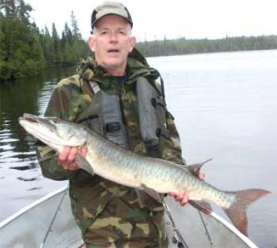 Great Musky Catch Fishing at Fireside Lodge Canada