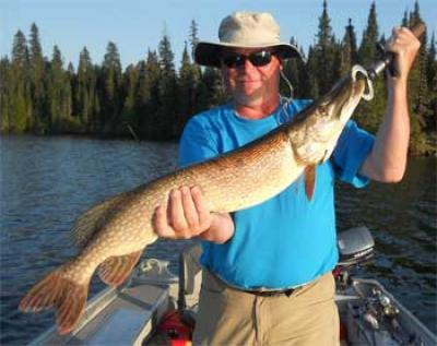 Northern Pike Fishing Lakes in Canada