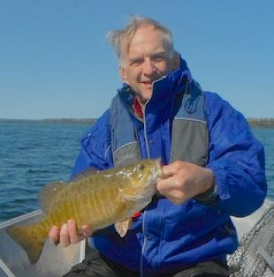 Cold Water Trophy Smallmouth Bass in Canada