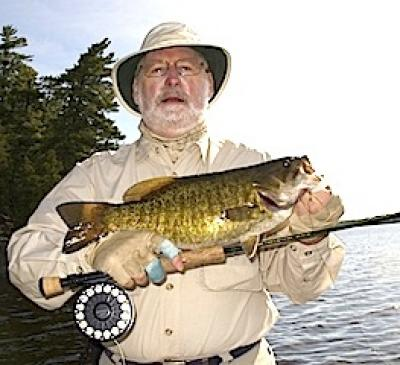 Fly-Fishing for Large Trophy Smallmouth Bass is Canada