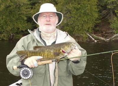 Master Anglers Trophy Smallmouth Bass Fly Fishing in Canada