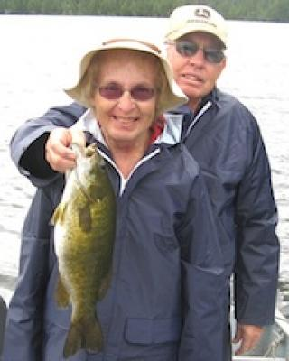 Ladies Terrific Smallmouth Bass Fishing in Canada