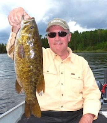 Trophy Smallmouth Bass by Paul Capecchi Fishing in Canada