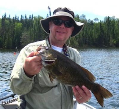 Many Trophy Smallmouth Bass Fishing at Fireside Lodge Canada