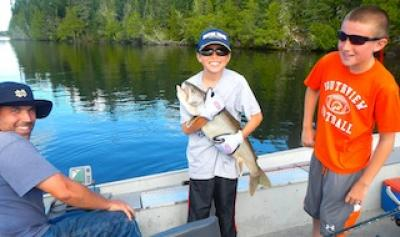 Terrific Lake Trout Fishing in Canada at Fireside Lodge