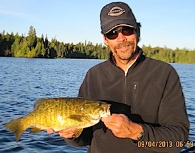 Tremendous Trophy Smallmouth Bass Fishing at Fireside Lodge Canada