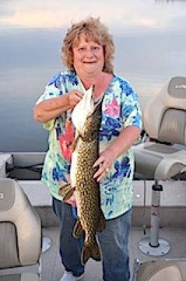 Great Pike Fishing at Fireside Lodge in Canada