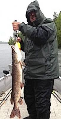 Big Pike are Common Fishing at Fireside Lodge in Canada
