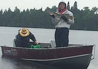 Family Fun Fishing Northern Pike at Fireside Lodge in Canada