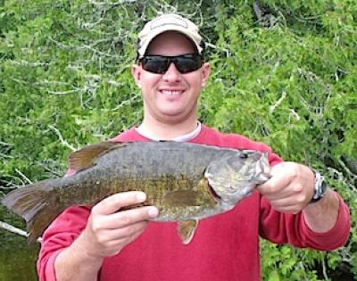 Family Fishing for Trophy Smallmouth Bass at Fireside Lodge in Canada