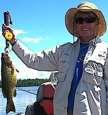 Pleantiful BIG Smallmouth Bass Fishing at Fireside Lodge in Canada