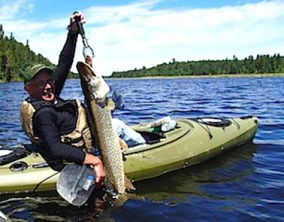 Amazing BIG Northern Pike Fishing at Fireside Lodge in Canada