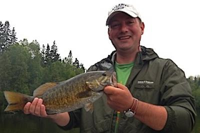 My First Trophy Smallmouth Bass Fishing at Fireside Lodge in Canada