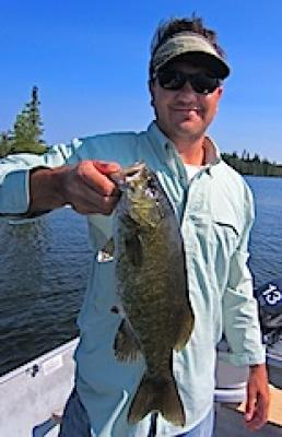 Magnificent Trophy Smallmouth Bass Fishing at Fireside Lodge in Canada
