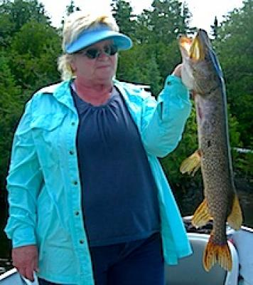 Love Northern Pike Fishing at Fireside Lodge in Canada