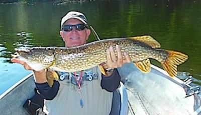 Super Fishing for BIG Northern Pike at Fireside Lodge in Canada