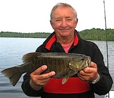 BIG Bad Trophy Smallmouth Bass Fishing at Fireside Lodge in Canada