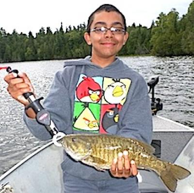 Smallmouth Fishing with Grandpa is Best at Fireside Lodge in Canada
