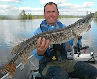 Fall Northern Pike Fishing at Fireside Lodge in Canada