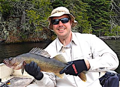 Trophy Walleye Fishing at Fireside Lodge in Canada