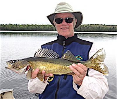 Great Walleye Catch Fishing at Fireside Lodge in Canada