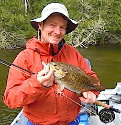 Best Fly Fishing Smallmouth Bass at Fireside Lodge in Canada