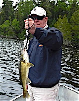 Walleye Fishing is Fun at Fireside Lodge in Canada