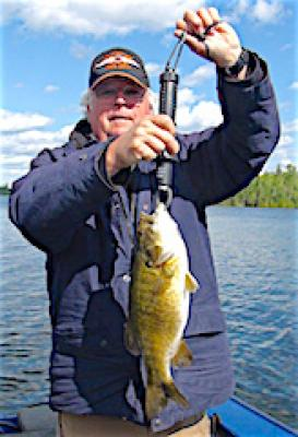 BIG Smallmouth Bass Fishing by Jeff at Fireside Lodge in Canada
