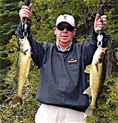 Walleye Doubles are a Blast Fishing at Fireside Lodge in Canada