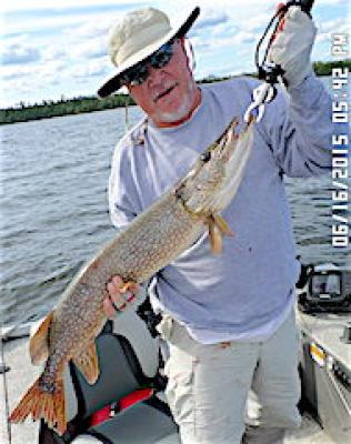 Addicted to Northern Pike Fishing at Fireside Lodge in Canada