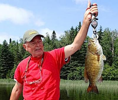 Super July Smallmouth Bass Fishing at Fireside Lodge in Canada