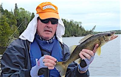 Walleye Fishing Surprise at Fireside Lodge in Canada