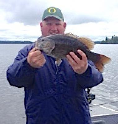 Big Brawny Smallmouth Bass Fishing at Fireside Lodge in Canada
