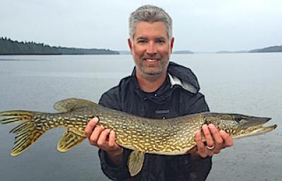 Good Time Fishing Northern Pike at Fireside Lodge in Canada